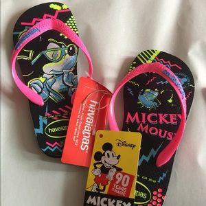Mickey Mouse Havaianas Flip Flops